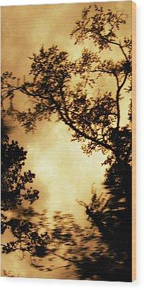 Threshold Wood Print by Kristin Sharpe