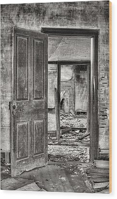Through The Doors Of Time Wood Print by JC Findley
