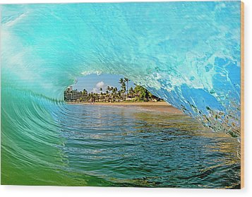 Thru The Looking Glass Wood Print by James Roemmling
