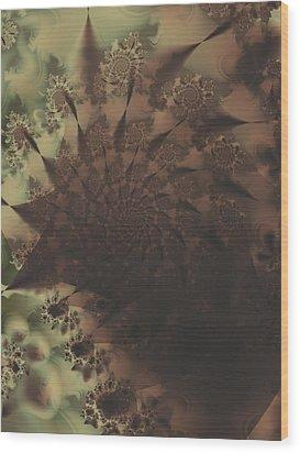 Thumb Print Wood Print by Lauren Goia