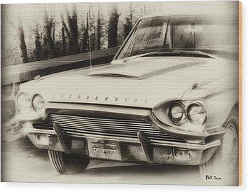 Thunderbird Dreams Wood Print by Bill Cannon