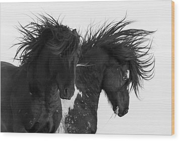 Thunderheart Wood Print