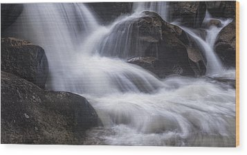 Wood Print featuring the photograph Thundering River by Tim Reaves