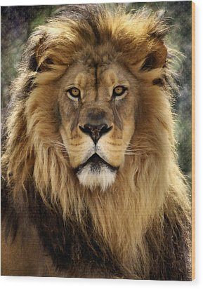 Thy Kingdom Come Wood Print by Linda Mishler