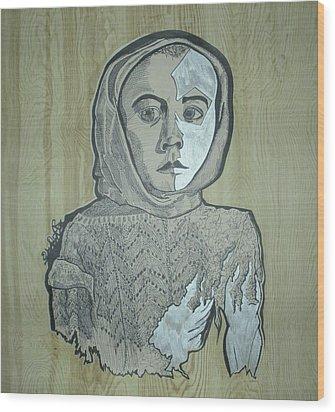 Ti 22 Wood Print by Alex Minch