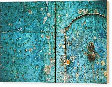 Ti Amo  I Love You Wood Print by Silvia Ganora