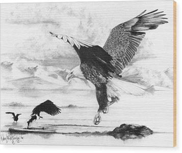 Tidal Bounty Wood Print by Bob Patterson