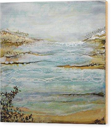 Tidal Pool 1 Wood Print