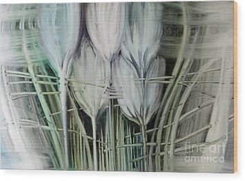 Tied Hands Wood Print by Fatima Stamato