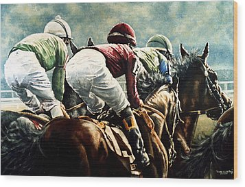Tight Quarters Wood Print by Thomas Allen Pauly