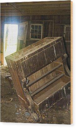 Tilted Wood Print