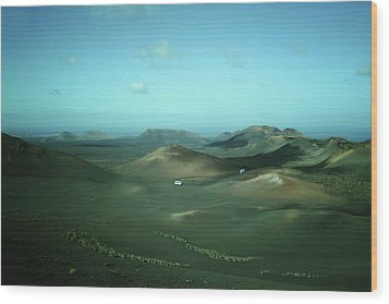 Timanfaya - Lanzarote Wood Print by Cambion Art
