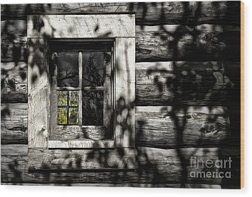 Wood Print featuring the photograph Timber Hand-crafted by Brad Allen Fine Art