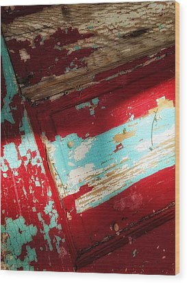 Wood Print featuring the photograph Time At The Door by Olivier Calas