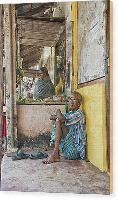 Kumarakom Wood Print by Marion Galt