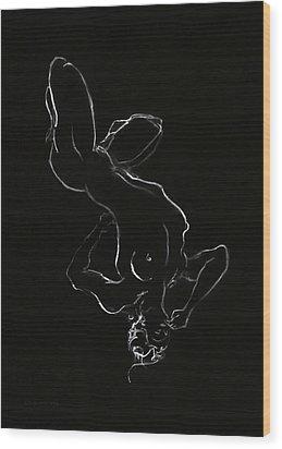 Timeless Wood Print by Antonio Ortiz