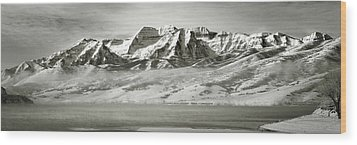 Timp Above Deer Creek Wood Print
