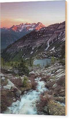 Timp From Silver Lake. Wood Print