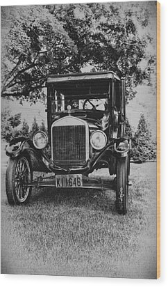 Tin Lizzy - Ford Model T Wood Print by Bill Cannon