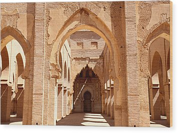 Tin Mal Mosque Wood Print by Axiom Photographic