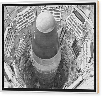 Titan Missile Site Museum Wood Print by Farol Tomson