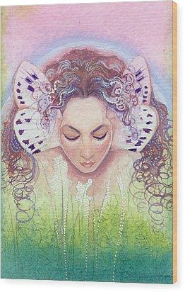 Titania Wood Print by Ragen Mendenhall