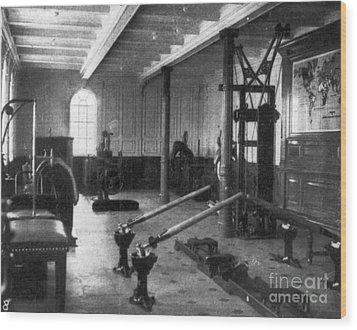 Titanic: Exercise Room, 1912 Wood Print by Granger