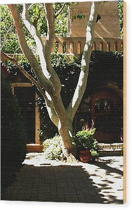 Tlaquepaque Sycamore Wood Print by Fred Wilson