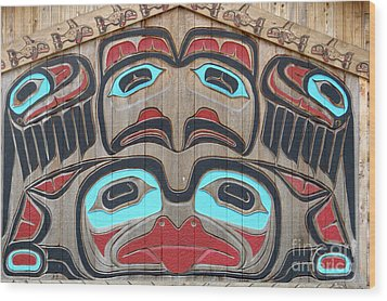 Tlingit Wall Panel Wood Print