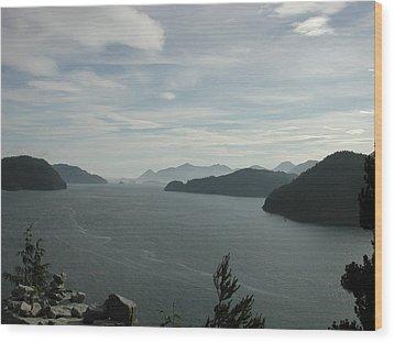 Tlupana Inlet Overlook Wood Print
