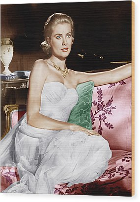 To Catch A Thief, Grace Kelly, 1955 Wood Print by Everett