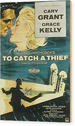To Catch A Thief, Poster Art, Cary Wood Print by Everett