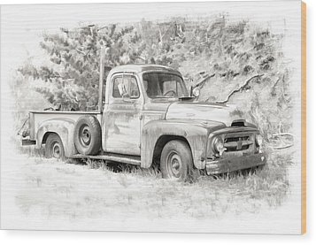 To Load Or Be Loaded Wood Print by Jeffrey Jensen