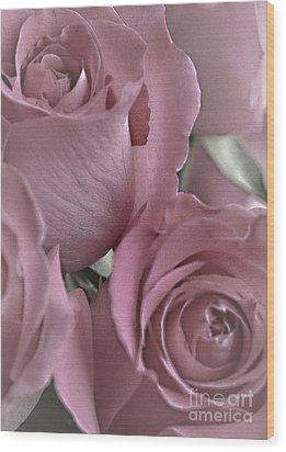 To My Sweetheart Wood Print by Sherry Hallemeier