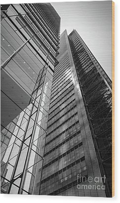 To The Top   -27870-bw Wood Print