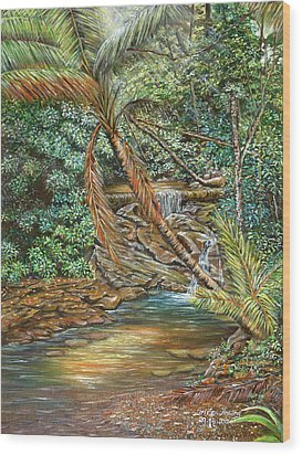 Toco Morning Wood Print by Trister Hosang
