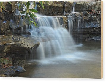 Wood Print featuring the photograph Tolliver Fall by Dung Ma