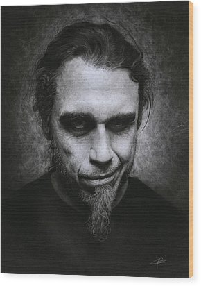 Tom Araya Wood Print
