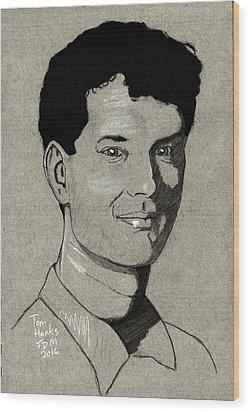 Tom Hanks Wood Print