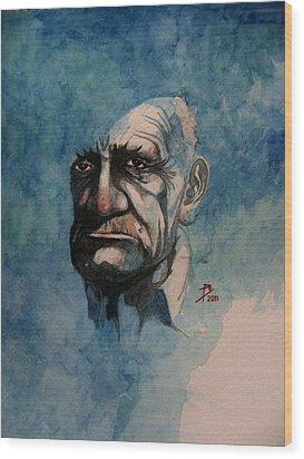 Tom Wood Print by Ray Agius