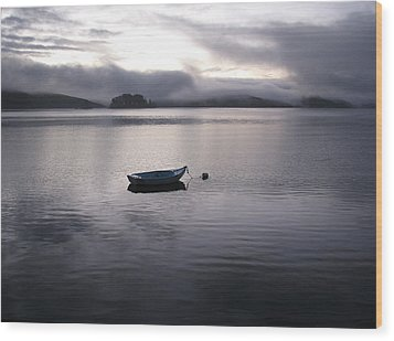 Wood Print featuring the photograph Tomales Bay At Sunset by Dianne Levy