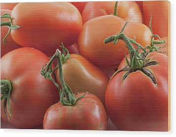 Wood Print featuring the photograph Tomato Stems by James BO Insogna