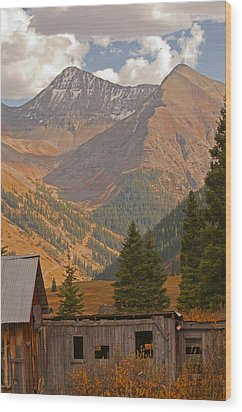 Tomboy Village 2 Wood Print
