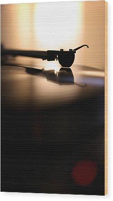 Tone Arm Wood Print