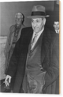 Tony Accardo, Successor Of Al Capone Wood Print by Everett