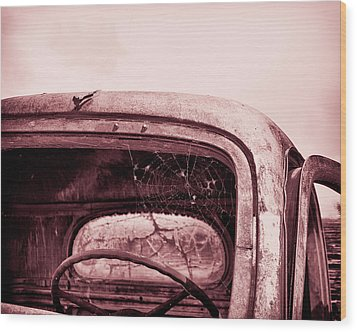 Wood Print featuring the photograph Too Old To Drive by Mary Hone