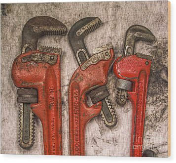 Tools Of The Trade Still Life Wood Print by Randy Steele
