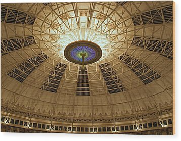 Top Of The Dome Wood Print by Sandy Keeton