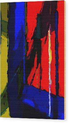 Torment Wood Print by Richard Rizzo
