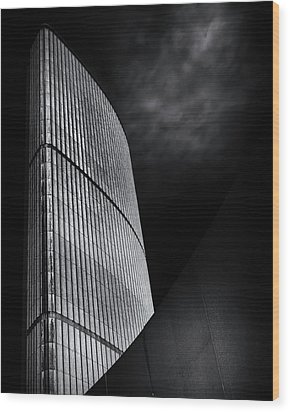 Wood Print featuring the photograph Toronto City Hall No 5 by Brian Carson